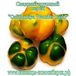 "Семена сладкого  жёлтого перца ""Californiya Wander Gold"""